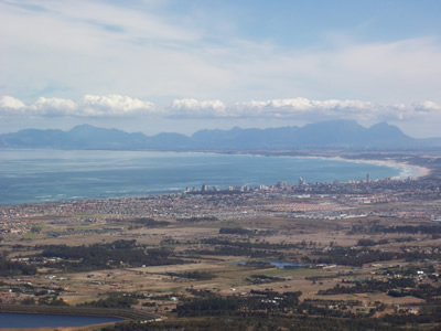 Helderberg Strand and Table Mountain View